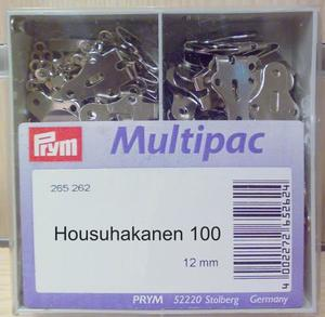 Housuhakanen 12mm 100 kpl, Prym